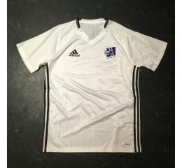 Hvid adizero trænings t-shirt